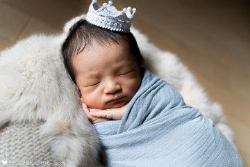 Kotaro's Newborn photos | 家族写真(ファミリーフォト)