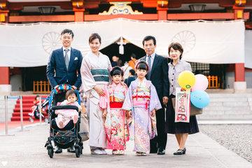 Saki's family | 家族写真(ファミリーフォト)