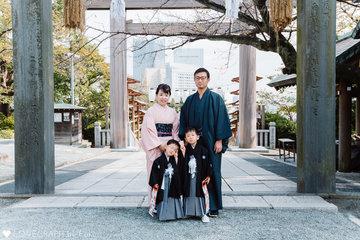 Kaz & Dai | 家族写真(ファミリーフォト)
