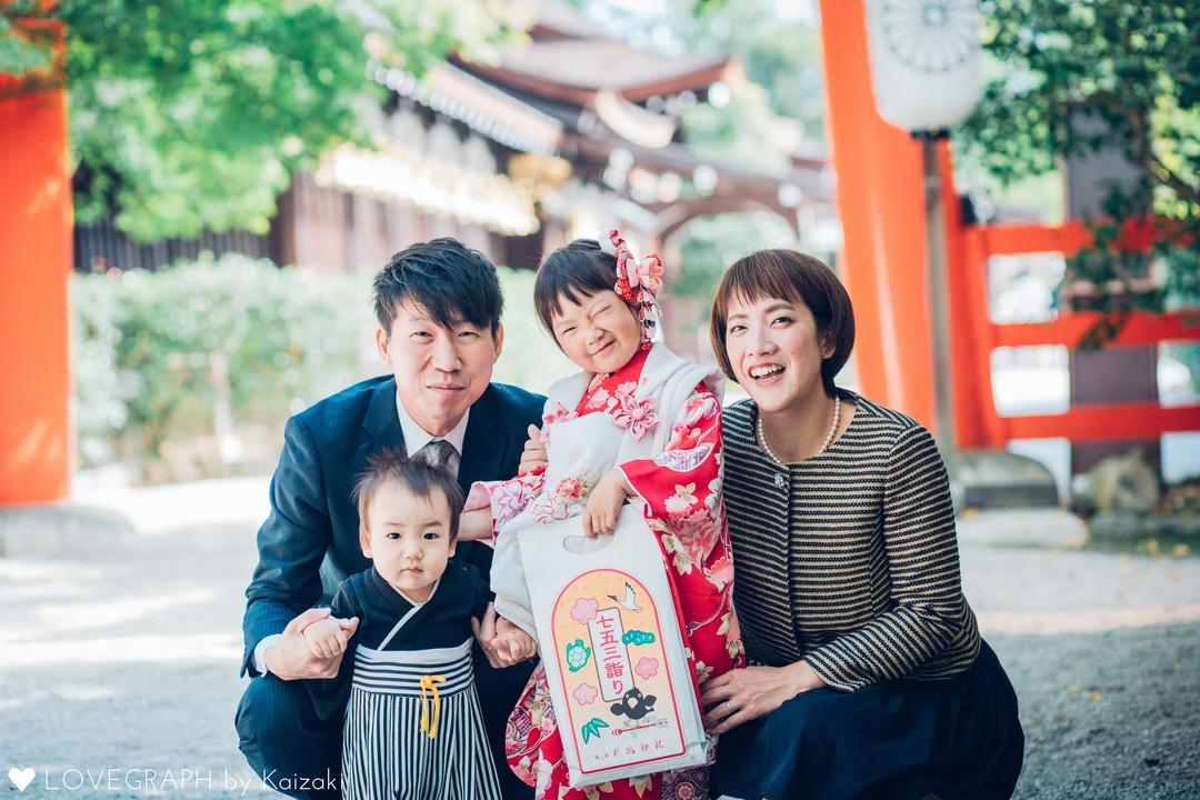 Maeda Family    家族写真(ファミリーフォト)
