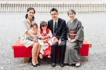 あーちゃん七五三 | 家族写真(ファミリーフォト)