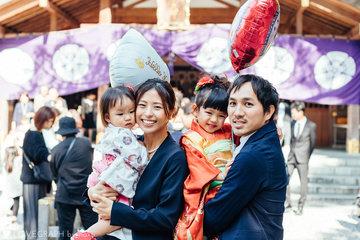 エマ七五三 | 家族写真(ファミリーフォト)