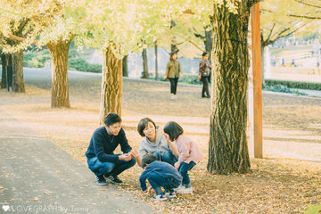 HASEGAWA family | 家族写真(ファミリーフォト)