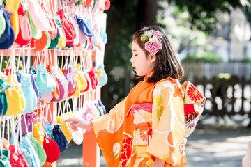 Yu's celebration of seventh years | 家族写真(ファミリーフォト)