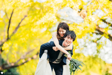 Yuki×Tsukushi | 夫婦フォト