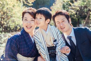 Katsu Family | 家族写真(ファミリーフォト)