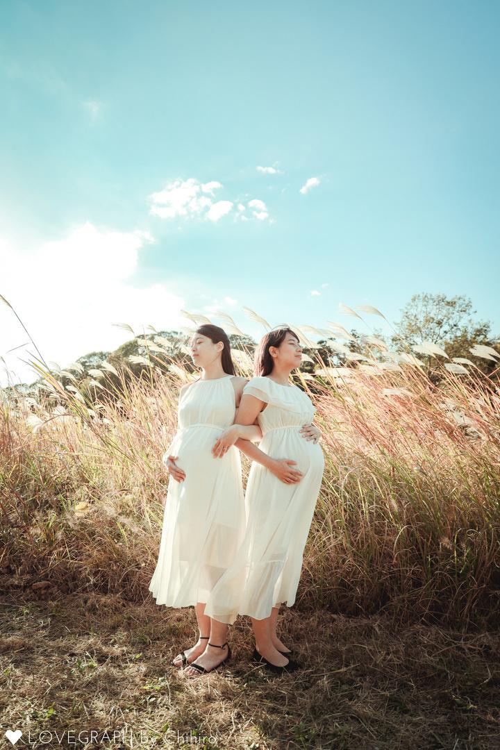 Maiko&Emi | 家族写真(ファミリーフォト)