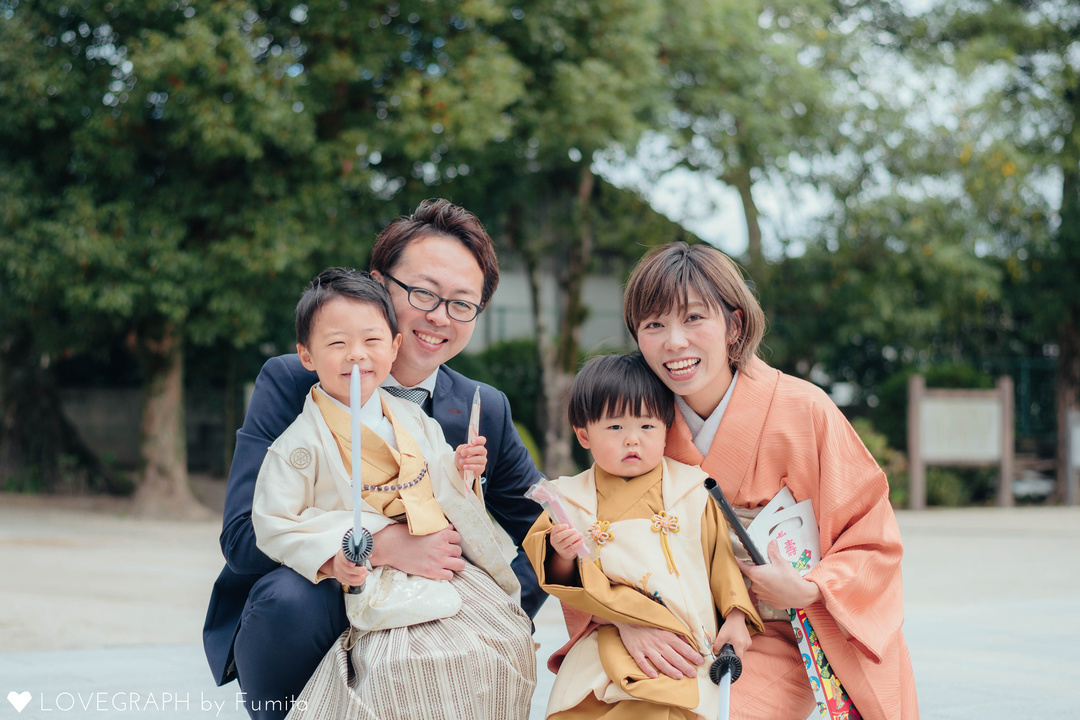 Noguchi's   家族写真(ファミリーフォト)