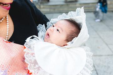歌穂お宮参 | 家族写真(ファミリーフォト)