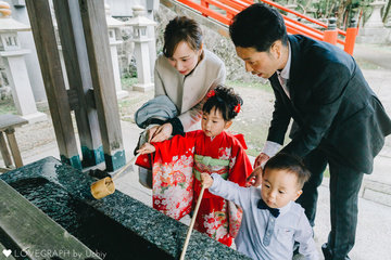 さくら七五三 | 家族写真(ファミリーフォト)