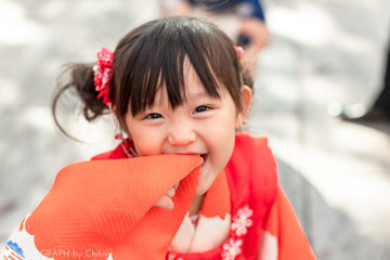 YUKI 3歳 七五三 | 家族写真(ファミリーフォト)