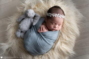 Haruno's newborn photo | 家族写真(ファミリーフォト)