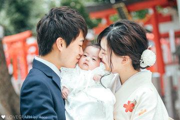 kudou family 初宮参り | 家族写真(ファミリーフォト)