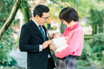Takeuchi Family | 家族写真(ファミリーフォト)