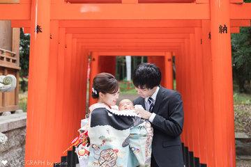 Seishiro  ー お宮参り - | 家族写真(ファミリーフォト)