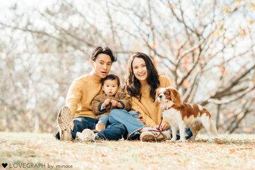 Sekine Family  | 家族写真(ファミリーフォト)