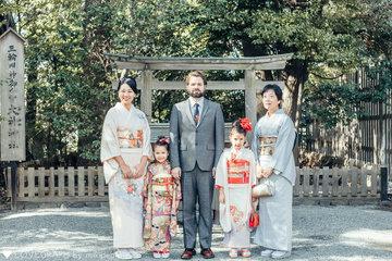 Kaede 七五三 | 家族写真(ファミリーフォト)