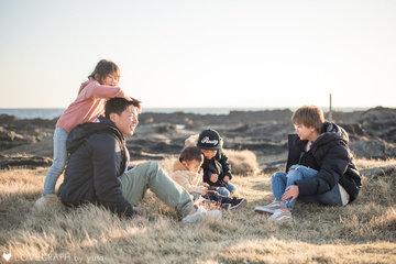 Fukuda Family   家族写真(ファミリーフォト)