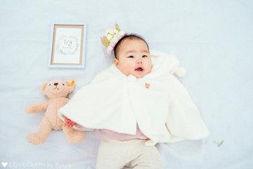 Kao Half Birthday | 家族写真(ファミリーフォト)