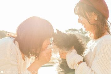 Family with Luna   家族写真(ファミリーフォト)