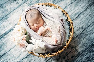 Yu-ka's Newborn photos | 家族写真(ファミリーフォト)