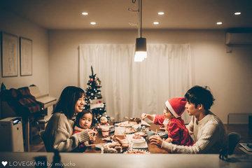 Y family X'mas | 家族写真(ファミリーフォト)