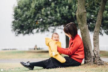 Masato_Mariko_Mao | 家族写真(ファミリーフォト)