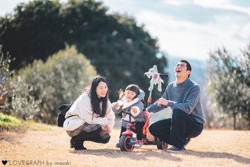 Shimazaki Family | 家族写真(ファミリーフォト)