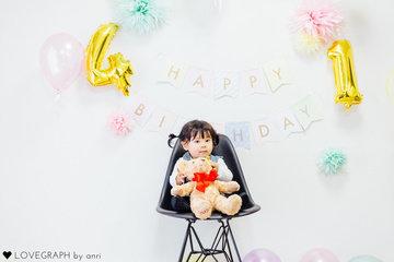 shusuke4th&kaede1st BD | 家族写真(ファミリーフォト)