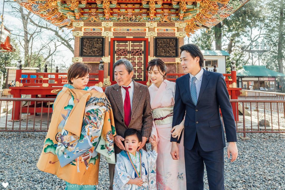 お宮参り×七五三 Sakai Family |
