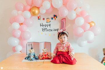 HIIRO1th birthday | 家族写真(ファミリーフォト)