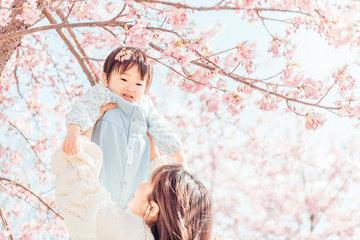 河津桜 | 家族写真(ファミリーフォト)