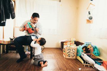 Ayato 1st Birthday | 家族写真(ファミリーフォト)