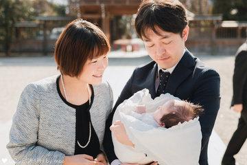 唯花 お宮参り | 家族写真(ファミリーフォト)