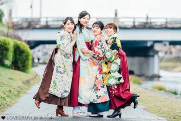 Natsuki & Tama & Haruko & Anju |