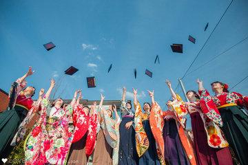 祝みんなで卒業! | フレンドフォト(友達)
