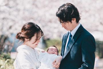 Honoka お宮参り | 家族写真(ファミリーフォト)