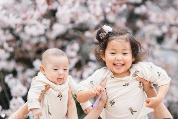 mori fam 100days Cherry Blossoms | 家族写真(ファミリーフォト)