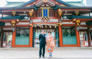 日枝神社お宮参り |