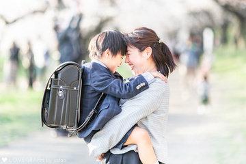 Takuto×family×卒園入学記念 | 家族写真(ファミリーフォト)