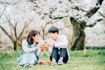 yuki×yuto 春 | カップルフォト