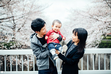 1 age Chikage's Family | 家族写真(ファミリーフォト)