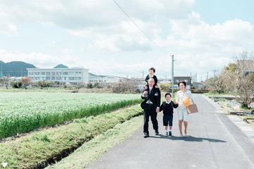 Dai入学式 | 家族写真(ファミリーフォト)