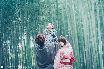 The first Kyoto | 家族写真(ファミリーフォト)