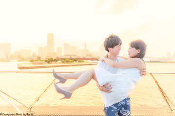 Satoru × Yukiko   カップルフォト