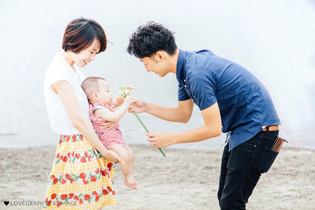Yuki × Yuka × Haruki | 家族写真(ファミリーフォト)