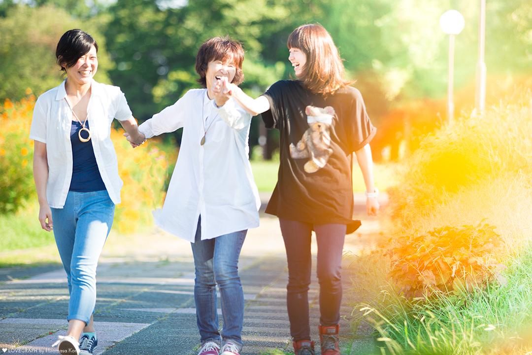 Nao × Mina × Natsue | 家族写真(ファミリーフォト)