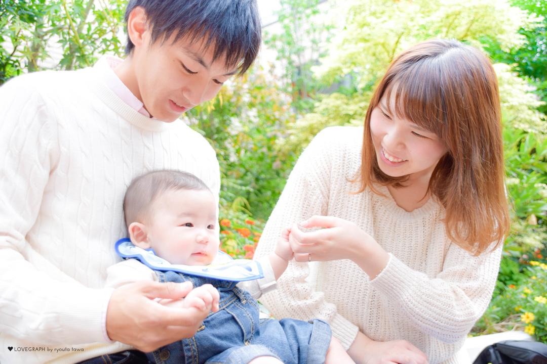 Daichi × Souta × Saori | 家族写真(ファミリーフォト)