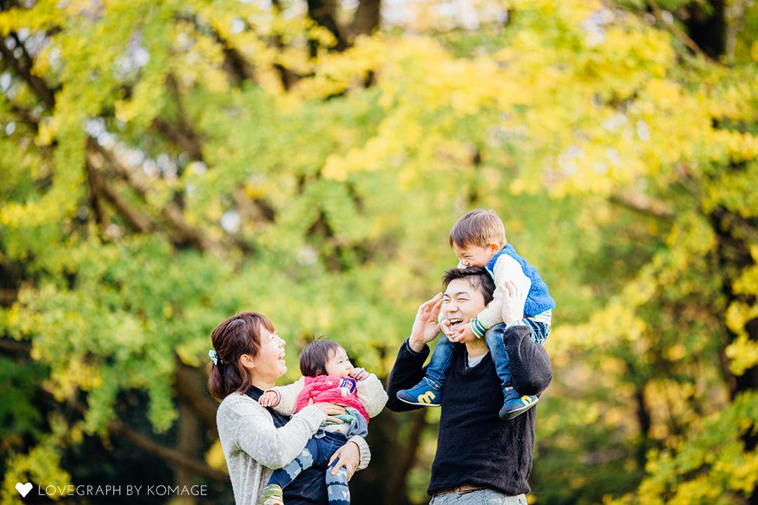 Koji × Reiko | 家族写真(ファミリーフォト)