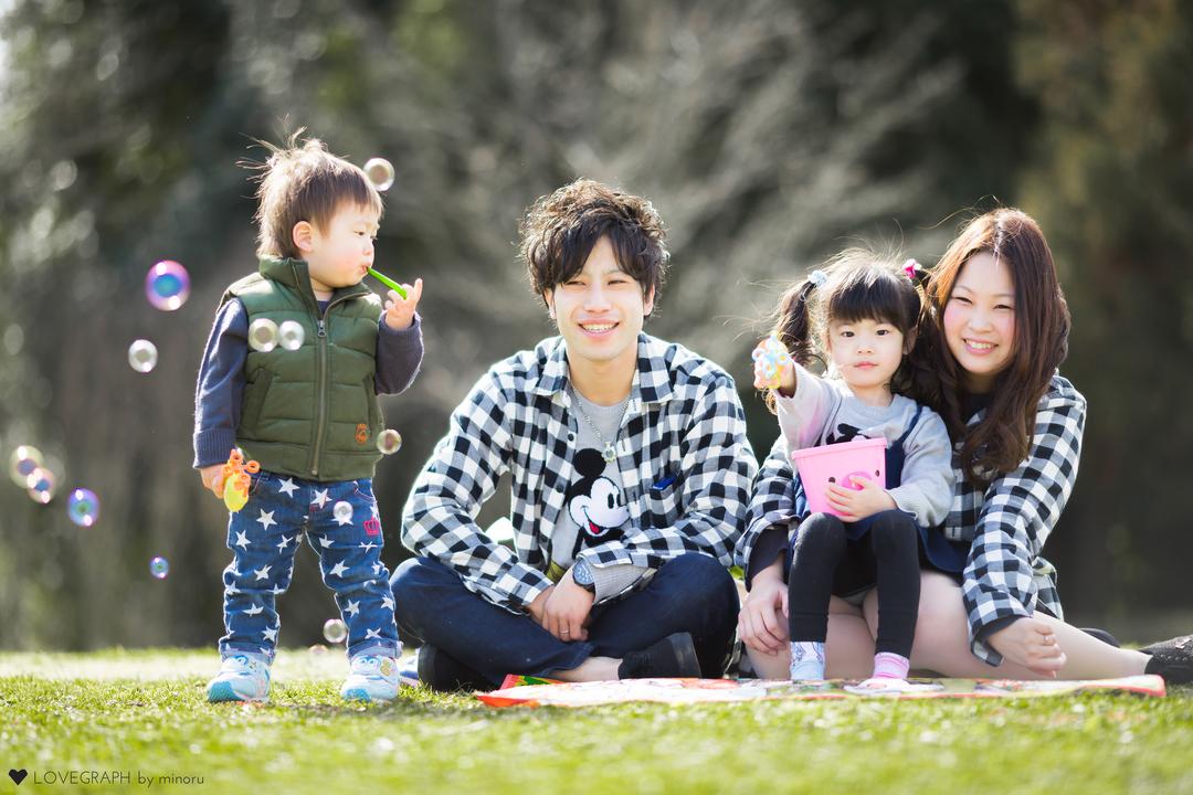 Yuki × Yusuke | 家族写真(ファミリーフォト)